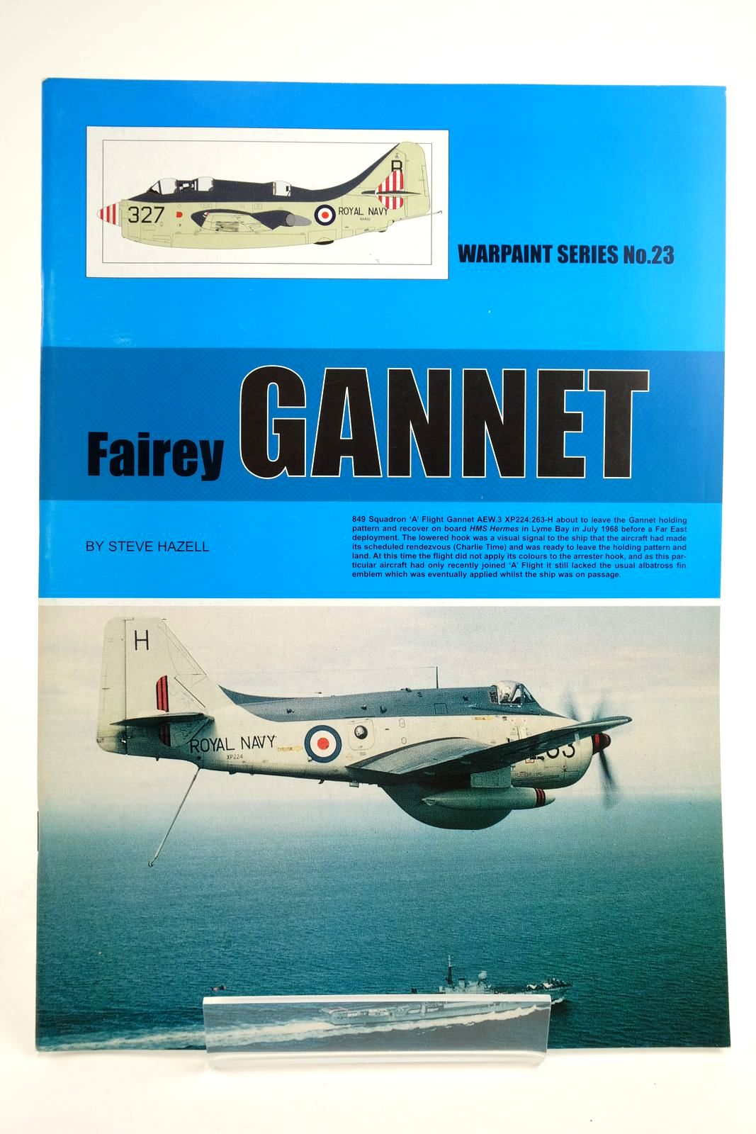 Photo of FAIREY GANNET written by Hazell, Steve published by Hall Park Books Ltd. (STOCK CODE: 2135109)  for sale by Stella & Rose's Books