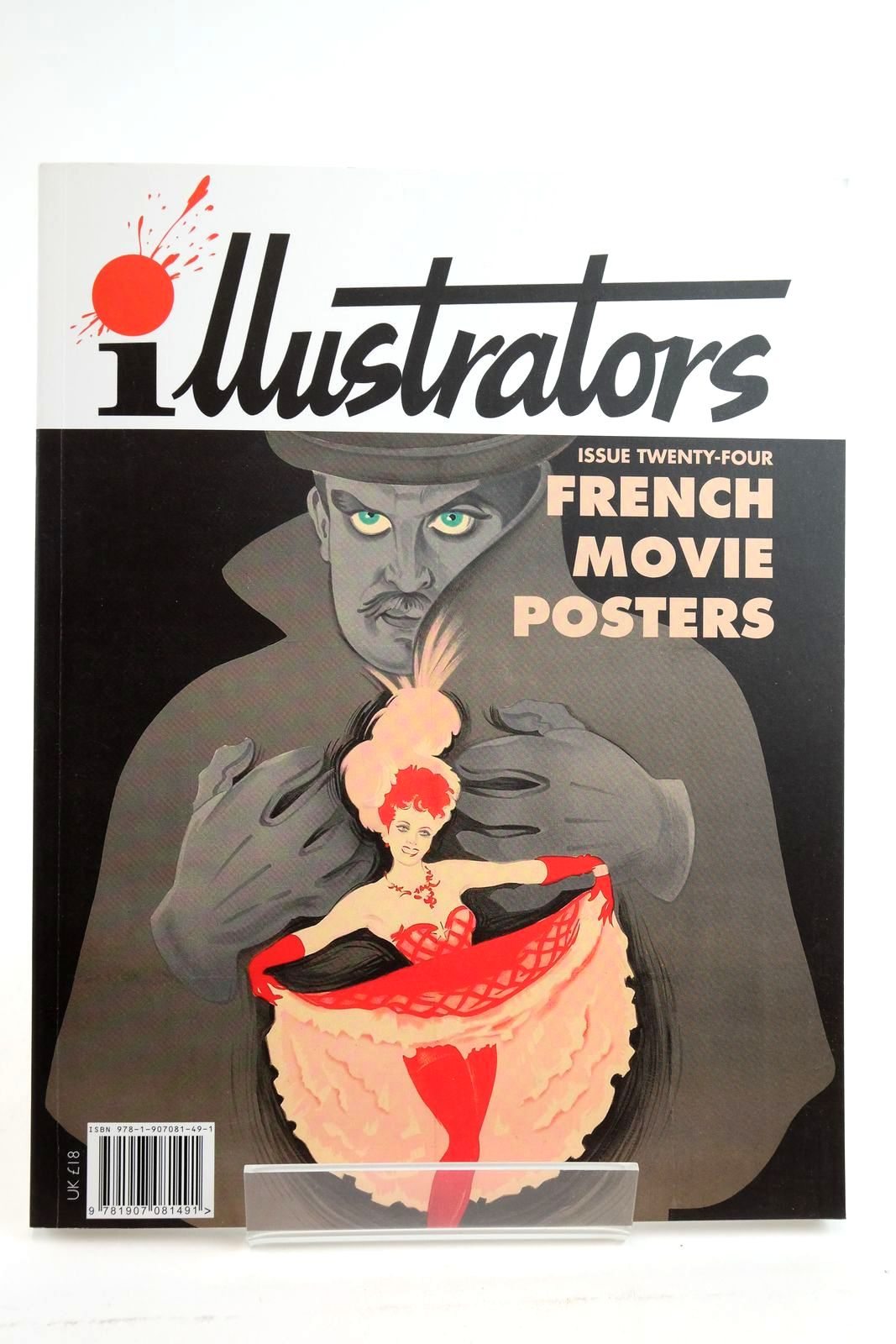 Photo of ILLUSTRATORS ISSUE TWENTY-FOUR FRENCH MOVIE POSTERS illustrated by Grinsson, Boris Hurel, Clement Mascii, Jean et al., published by Geoff West (STOCK CODE: 2135115)  for sale by Stella & Rose's Books