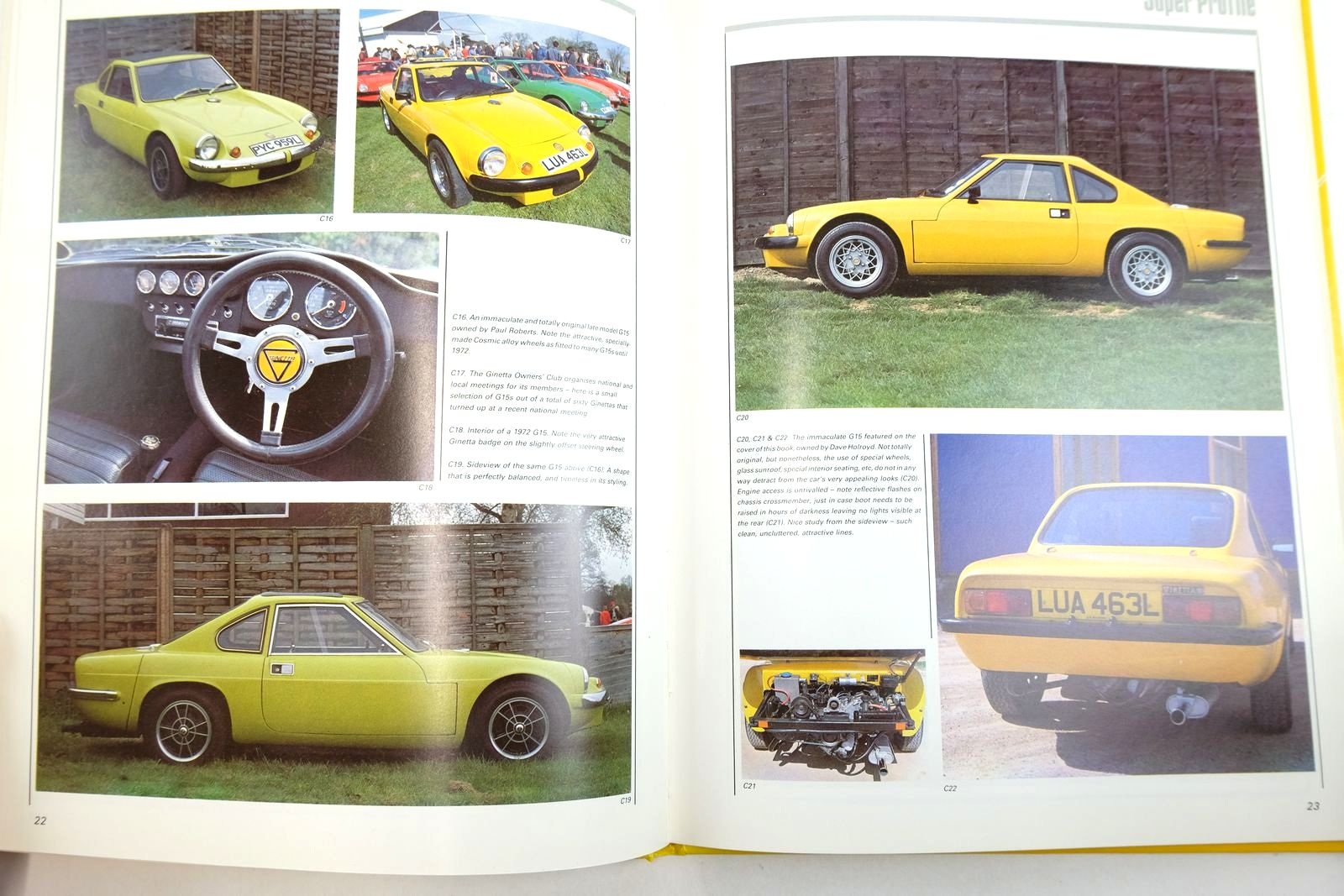 Photo of GINETTA G15 SUPER PROFILE written by Rose, John published by Haynes Publishing Group (STOCK CODE: 2135129)  for sale by Stella & Rose's Books