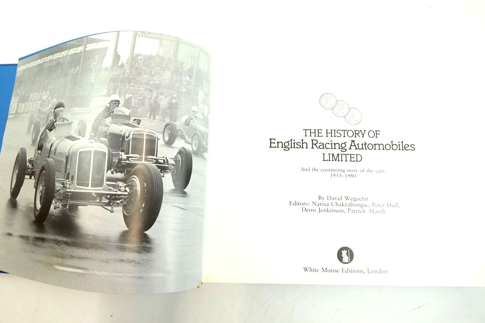 Photo of ERA THE HISTORY OF ENGLISH RACING AUTOMOBILES LIMITED written by Weguelin, David et al,  published by White Mouse (STOCK CODE: 2135137)  for sale by Stella & Rose's Books