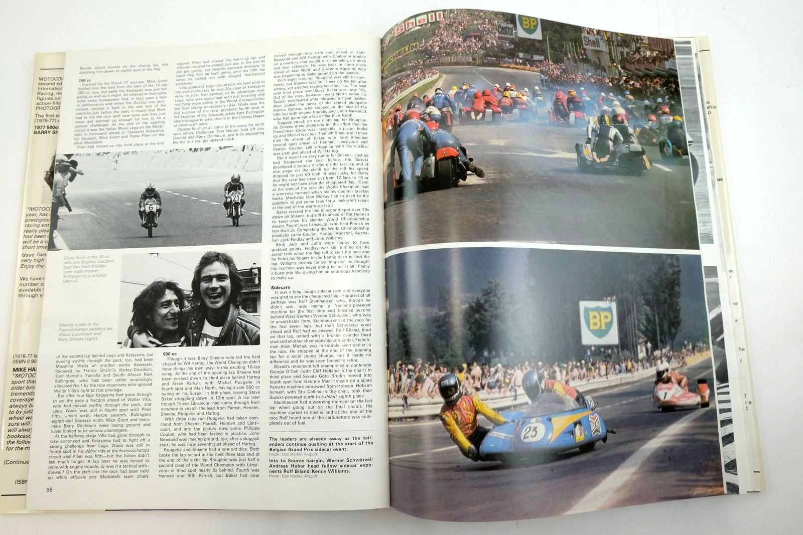 Photo of MOTOCOURSE 1977-78 published by Hazleton Securities (STOCK CODE: 2135144)  for sale by Stella & Rose's Books
