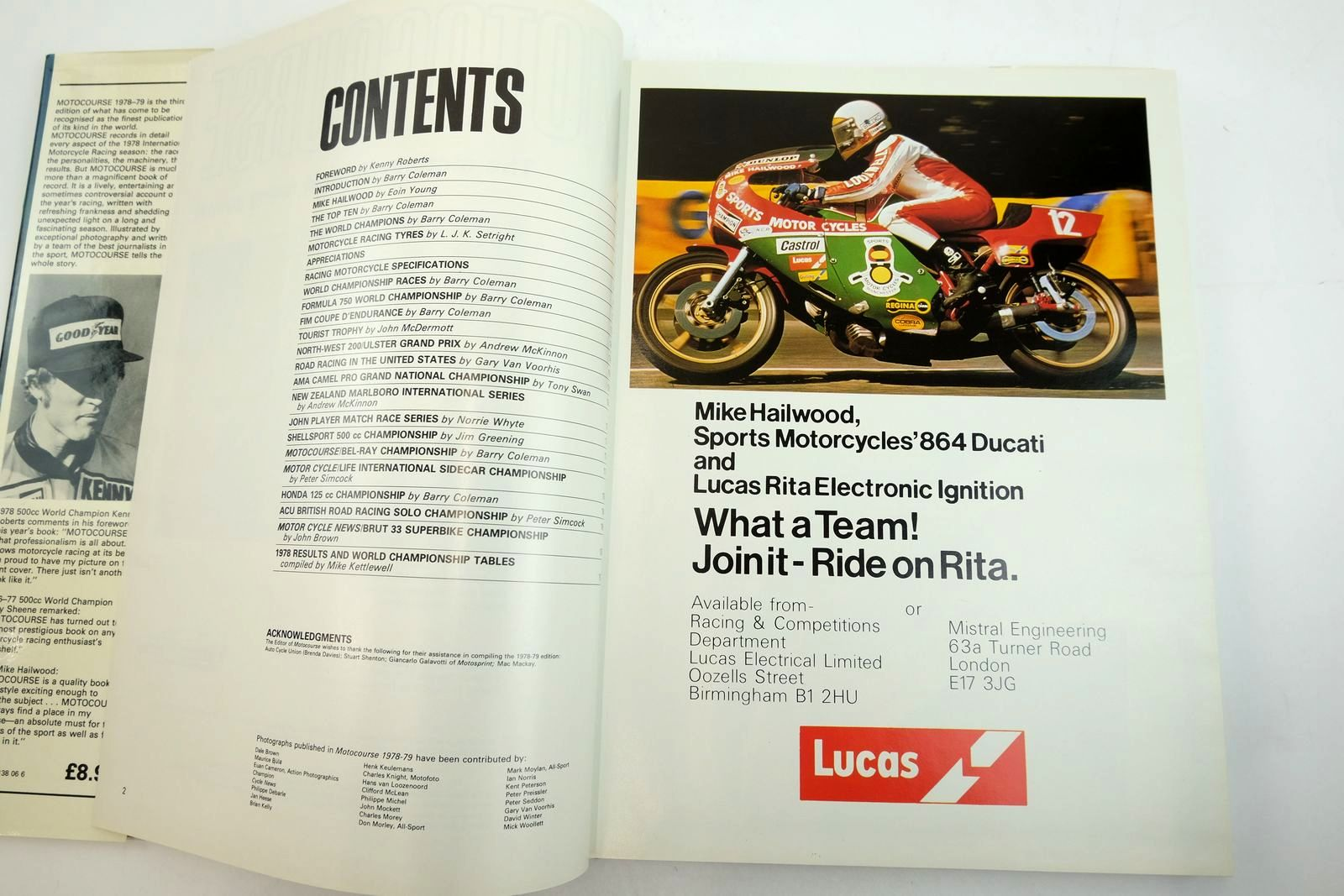 Photo of MOTOCOURSE 1978-79 published by Hazleton Securities (STOCK CODE: 2135145)  for sale by Stella & Rose's Books