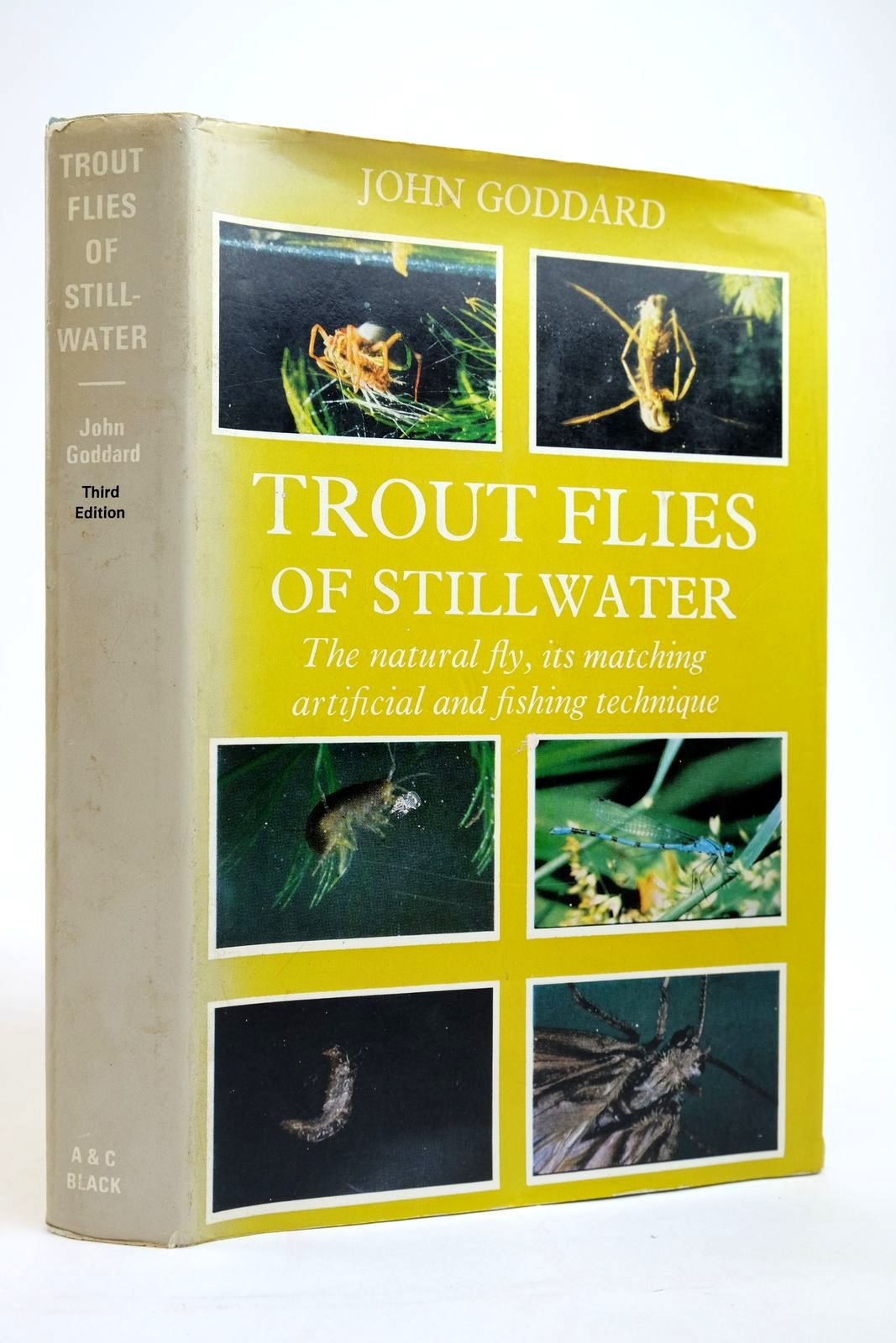 Photo of TROUT FLIES OF STILLWATER written by Goddard, John published by Adam & Charles Black (STOCK CODE: 2135153)  for sale by Stella & Rose's Books