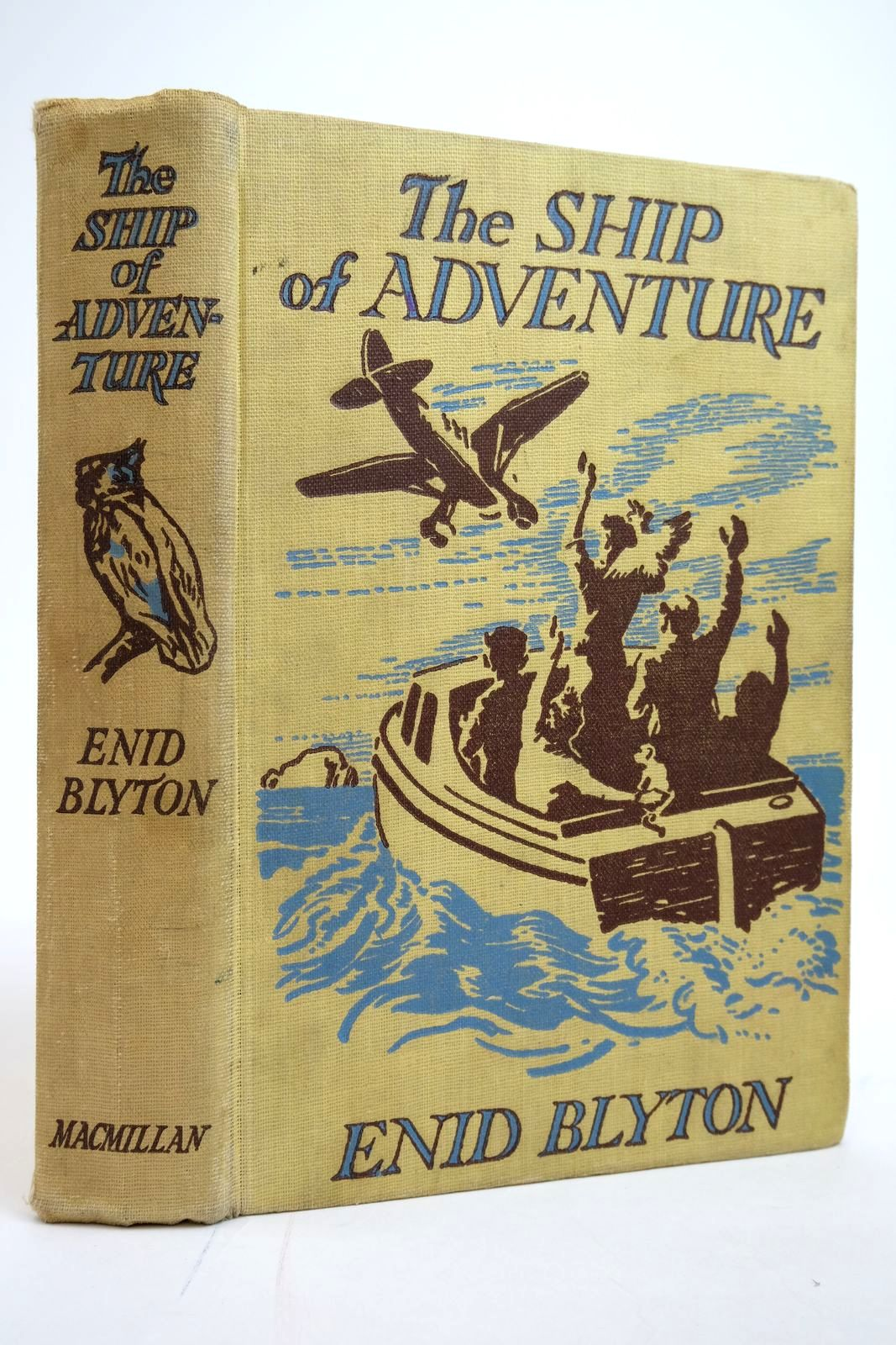 Photo of THE SHIP OF ADVENTURE written by Blyton, Enid illustrated by Tresilian, Stuart published by Macmillan & Co. Ltd. (STOCK CODE: 2135168)  for sale by Stella & Rose's Books