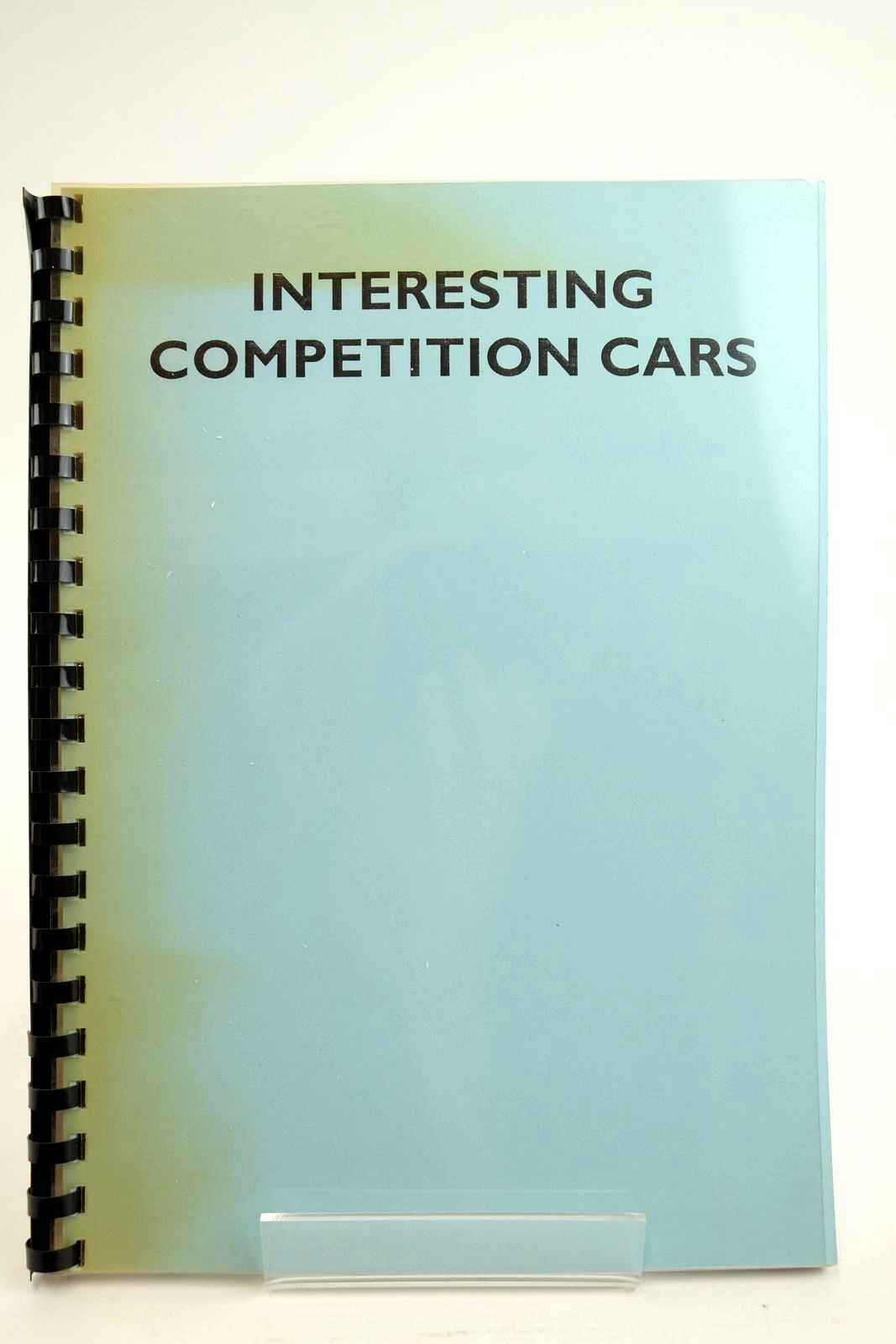 Photo of INTERESTING COMPETITION CARS published by Unique Motor Books (STOCK CODE: 2135204)  for sale by Stella & Rose's Books