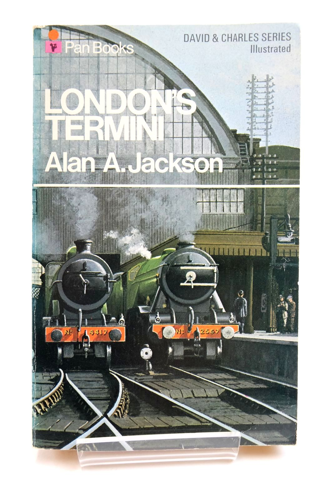 Photo of LONDON'S TERMINI written by Jackson, Alan A. published by Pan Books Ltd (STOCK CODE: 2135209)  for sale by Stella & Rose's Books