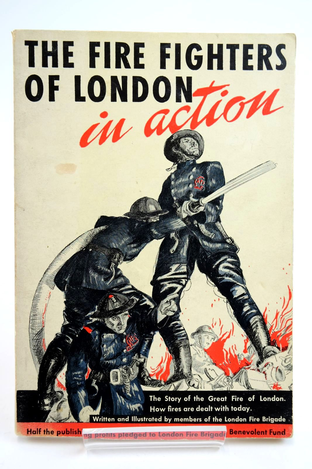 Photo of THE FIRE FIGHTERS OF LONDON IN ACTION published by Garden City Publishing Company, Inc. (STOCK CODE: 2135212)  for sale by Stella & Rose's Books