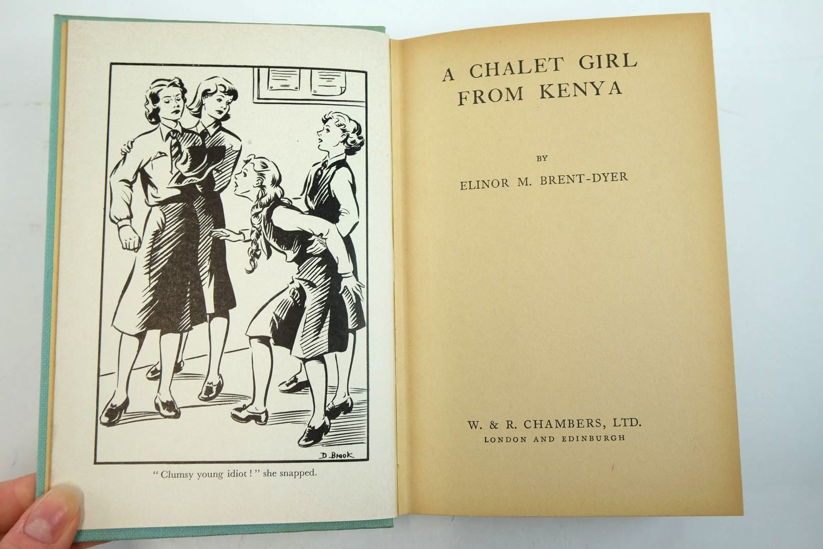 Photo of A CHALET GIRL FROM KENYA written by Brent-Dyer, Elinor M. published by W. & R. Chambers Limited (STOCK CODE: 2135221)  for sale by Stella & Rose's Books
