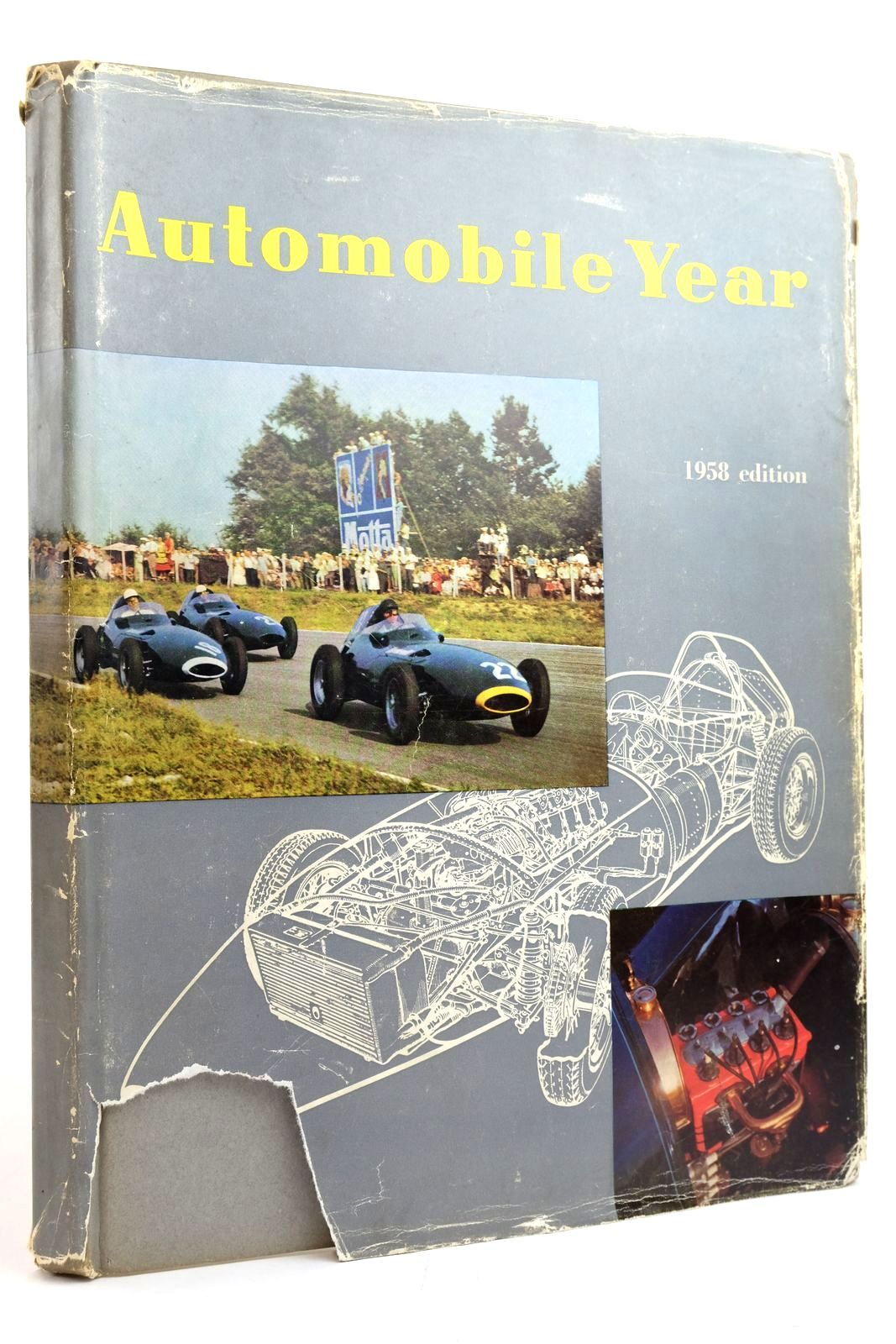 Photo of AUTOMOBILE YEAR No. 5 published by Edita S.A. Lausanne (STOCK CODE: 2135270)  for sale by Stella & Rose's Books