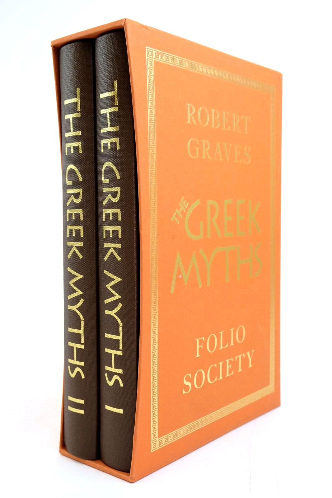 Photo of THE GREEK MYTHS (2 VOLUMES) written by Graves, Robert McLeish, Kenneth illustrated by Baker, Grahame published by Folio Society (STOCK CODE: 2135272)  for sale by Stella & Rose's Books