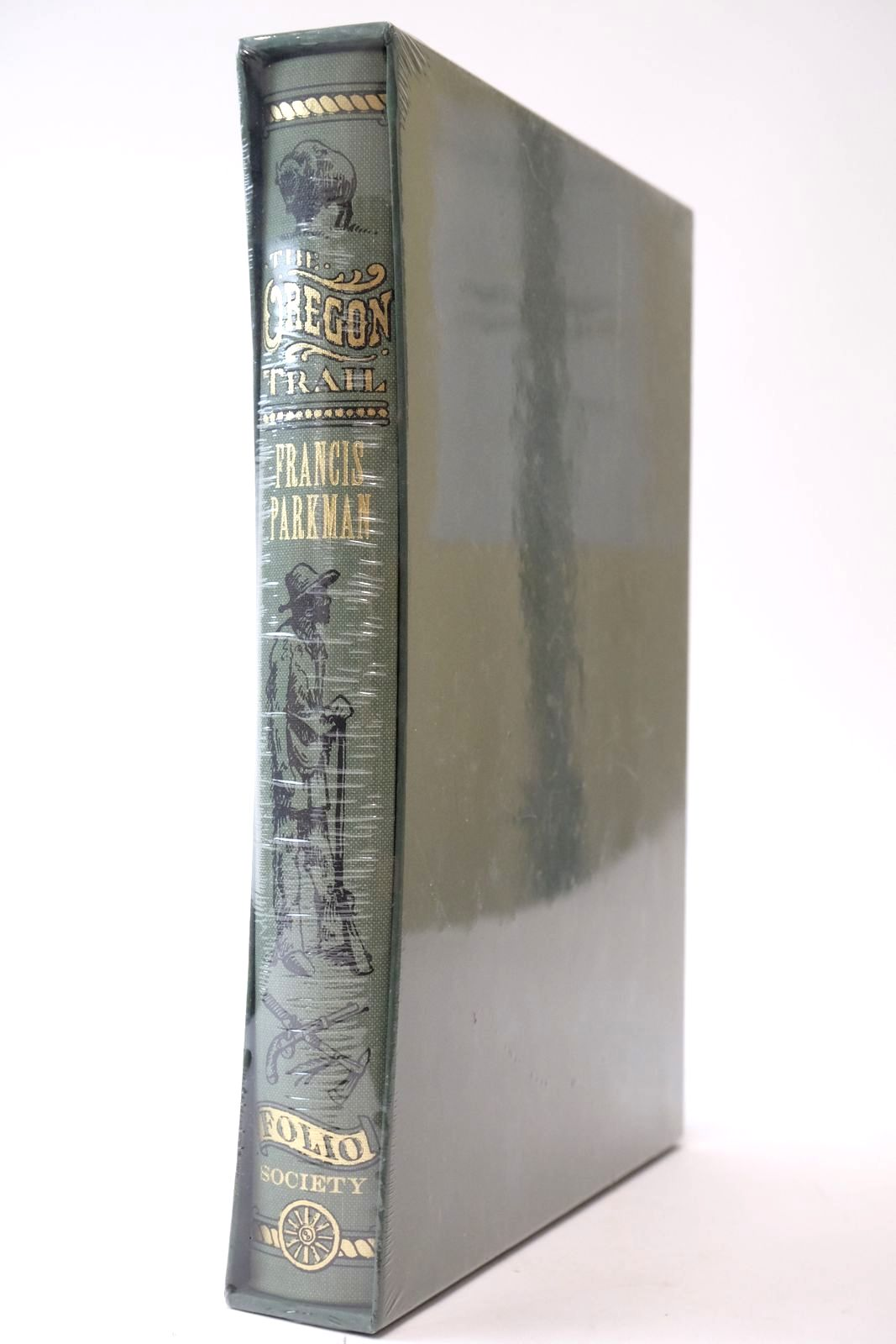 Photo of THE OREGON TRAIL written by Parkman, Francis McLynn, Frank published by Folio Society (STOCK CODE: 2135285)  for sale by Stella & Rose's Books