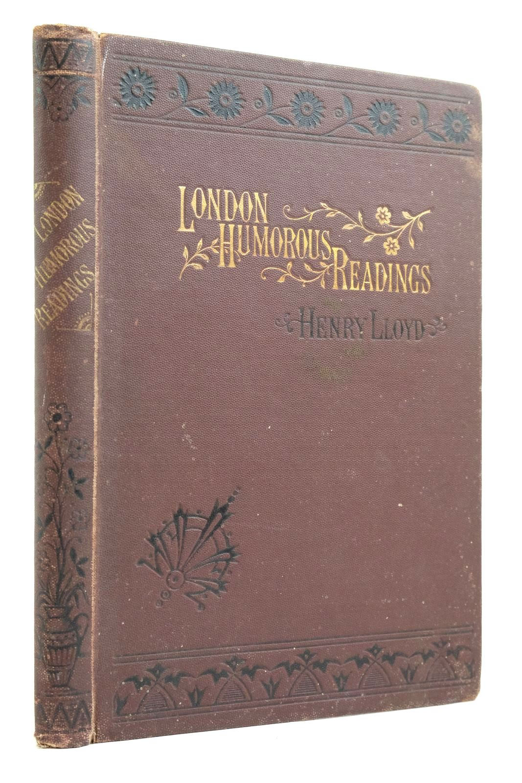 Photo of LONDON HUMOROUS READINGS written by Lloyd, Henry published by W. Nicholson & Sons (STOCK CODE: 2135290)  for sale by Stella & Rose's Books