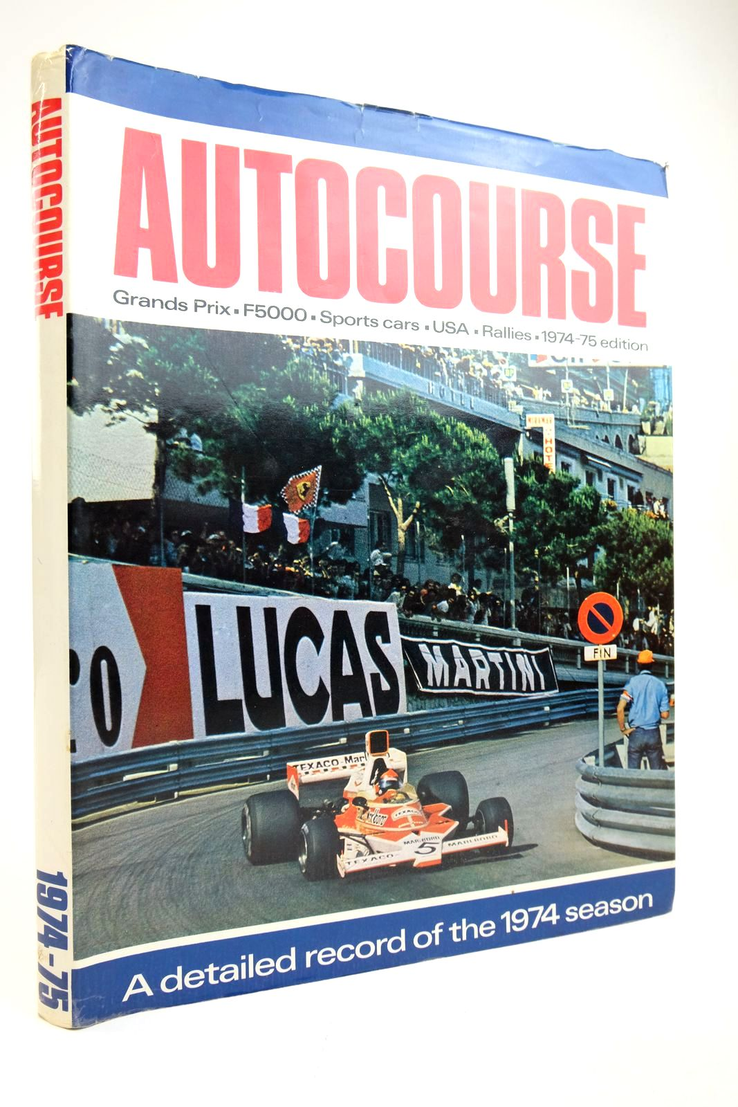 Photo of AUTOCOURSE 1974-75 written by Kettlewell, Mike published by Haymarket Publishing Limited (STOCK CODE: 2135303)  for sale by Stella & Rose's Books