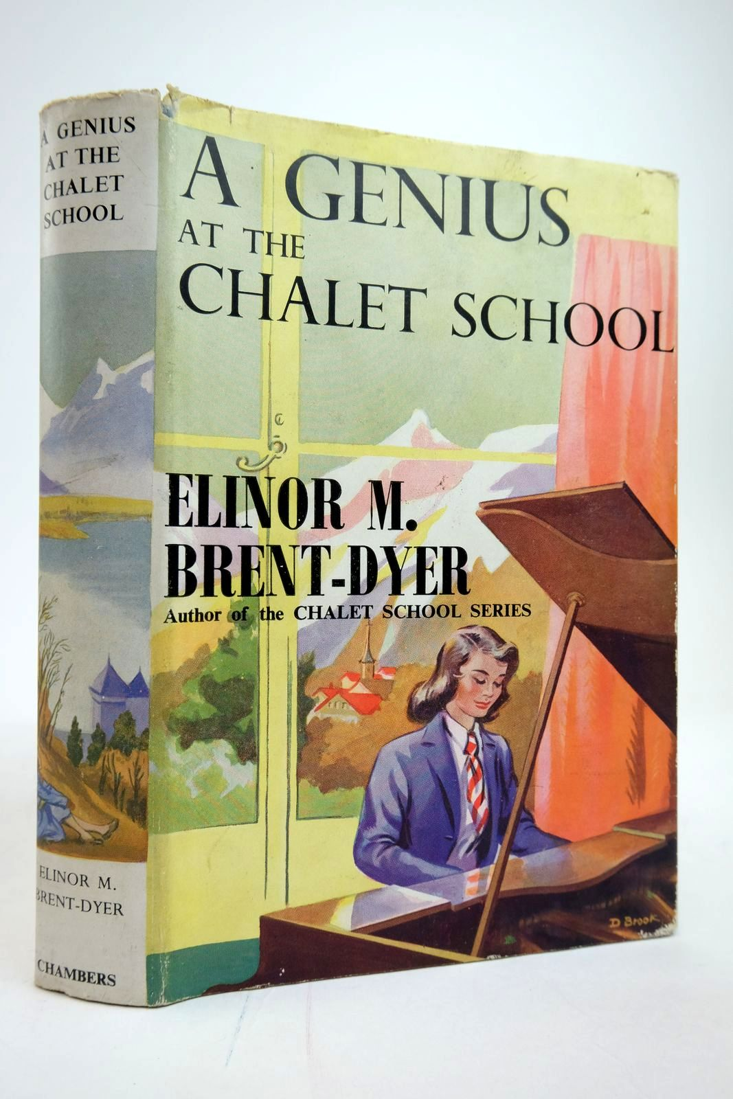 Photo of A GENIUS AT THE CHALET SCHOOL written by Brent-Dyer, Elinor M. published by W. & R. Chambers Limited (STOCK CODE: 2135306)  for sale by Stella & Rose's Books