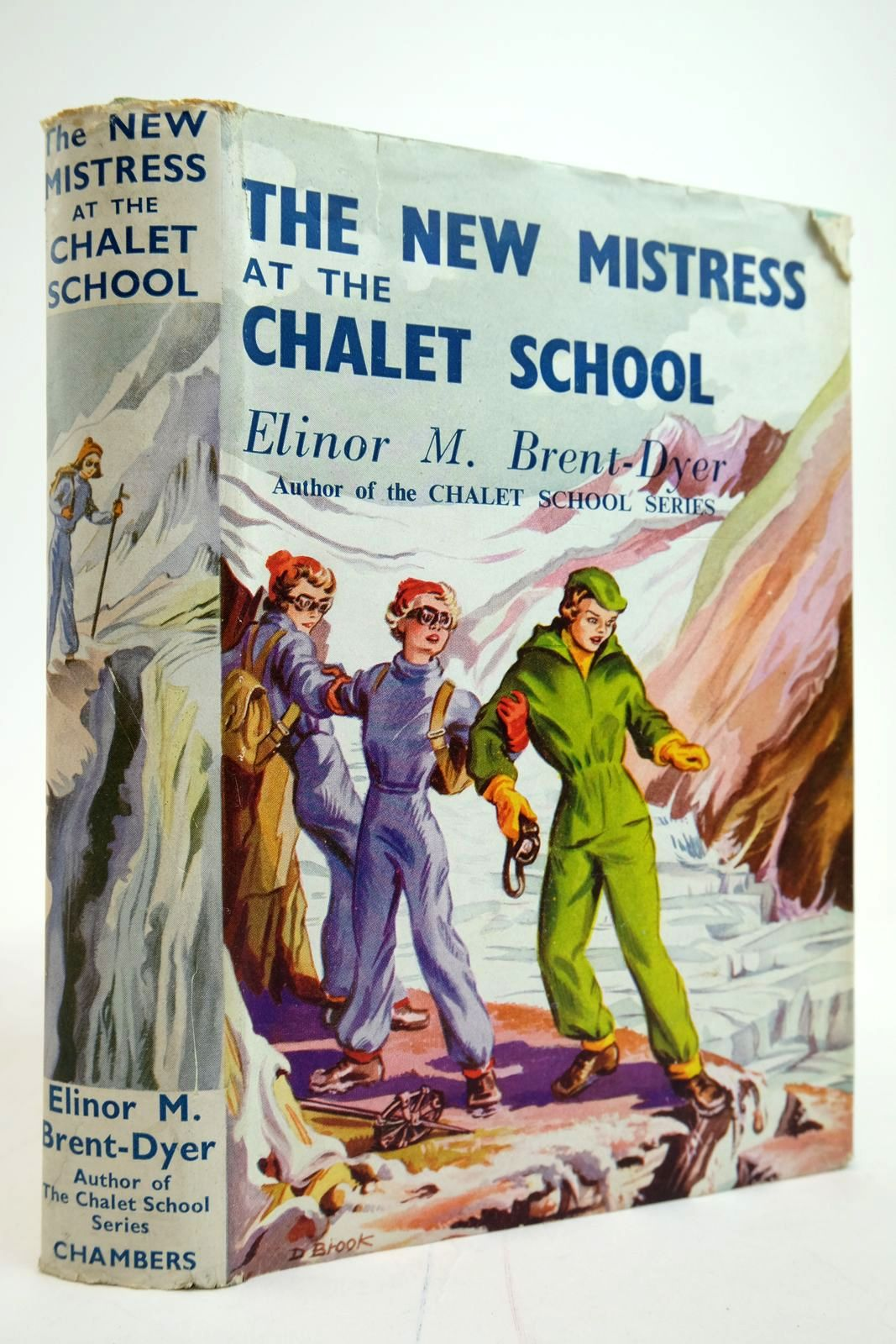 Photo of THE NEW MISTRESS AT THE CHALET SCHOOL written by Brent-Dyer, Elinor M. illustrated by Brook, D. published by W. & R. Chambers Limited (STOCK CODE: 2135312)  for sale by Stella & Rose's Books