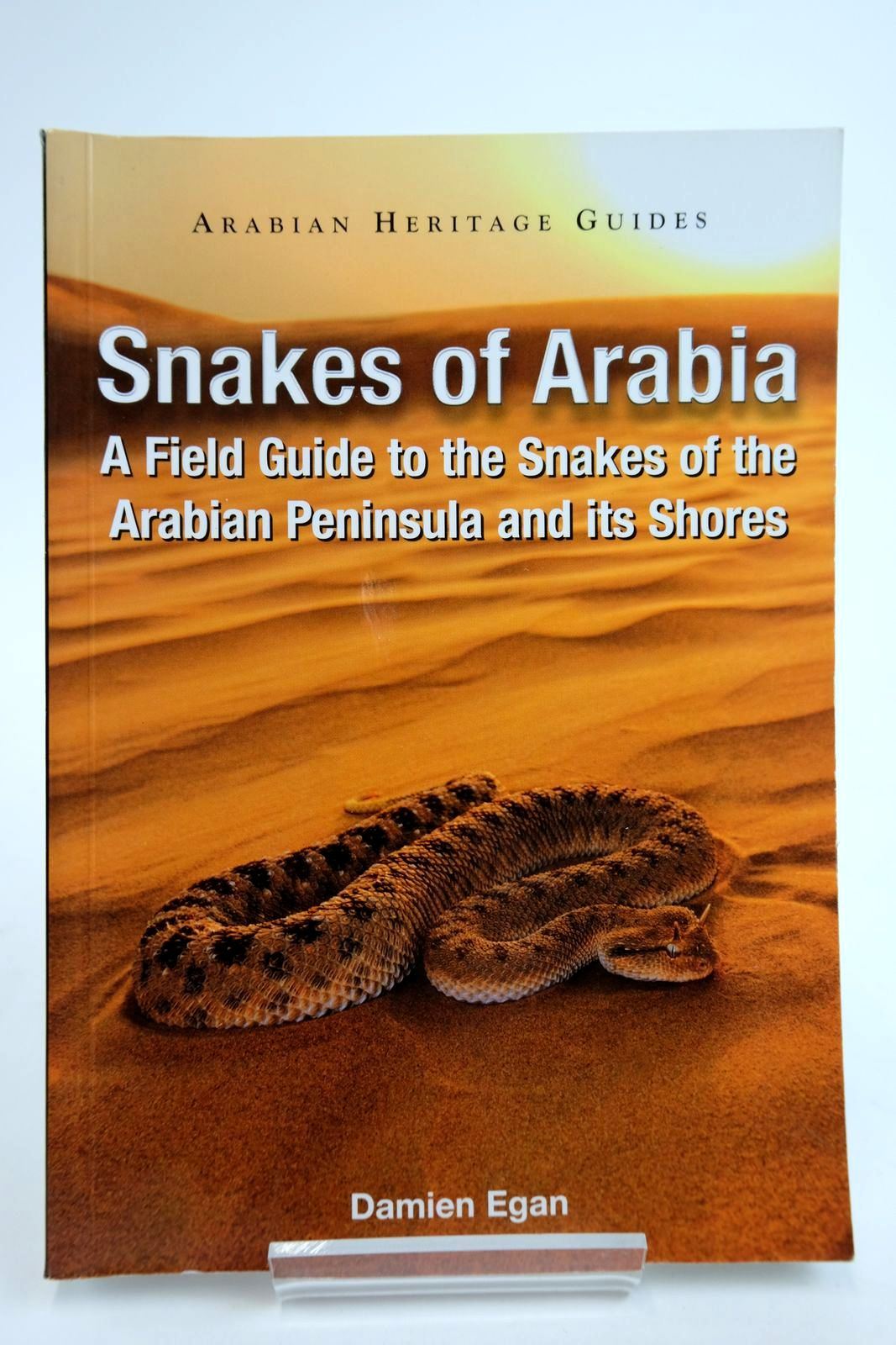 Photo of SNAKES OF ARABIA: A FIELD GUIDE TO THE SNAKES OF THE ARABIAN PENINSULA AND ITS SHORES- Stock Number: 2135329