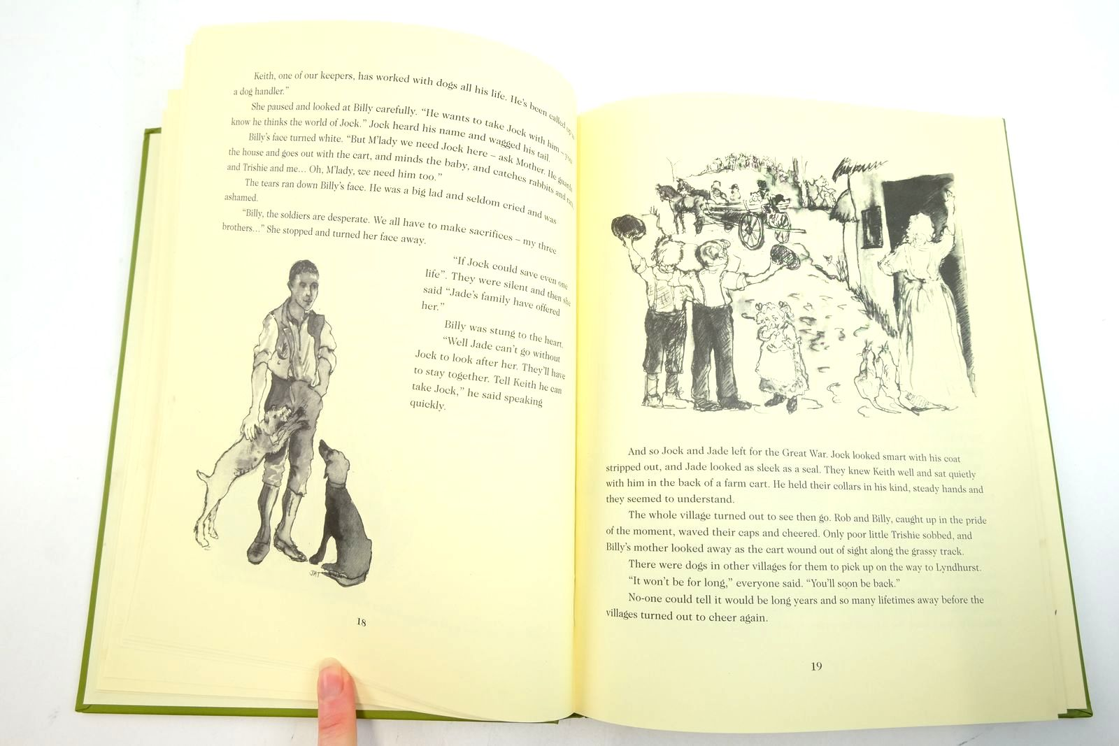 Photo of JOCK OF THE GREAT WAR written by Jackson, Lucy illustrated by Tucker, Jucy published by Utl Printing (STOCK CODE: 2135374)  for sale by Stella & Rose's Books