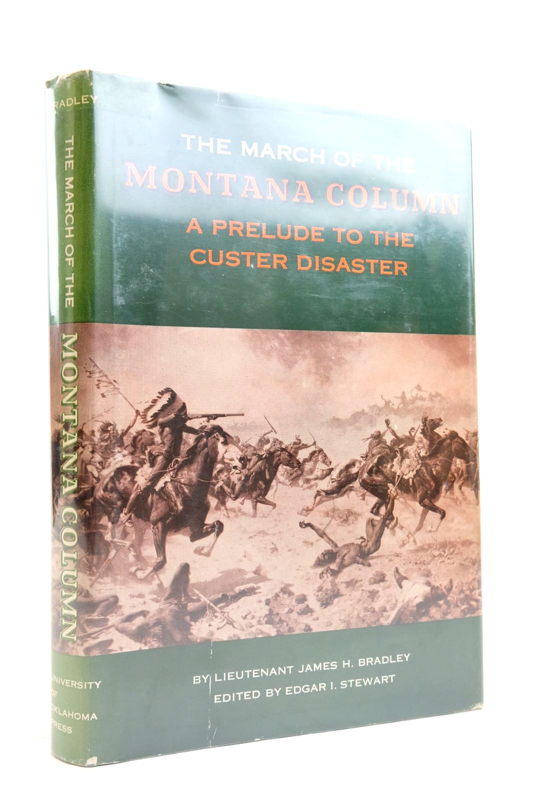 Photo of THE MARCH OF THE MONTANA COLUMN written by Bradley, James H. Stewart, Edgar I. published by University of Oklahoma Press (STOCK CODE: 2135387)  for sale by Stella & Rose's Books