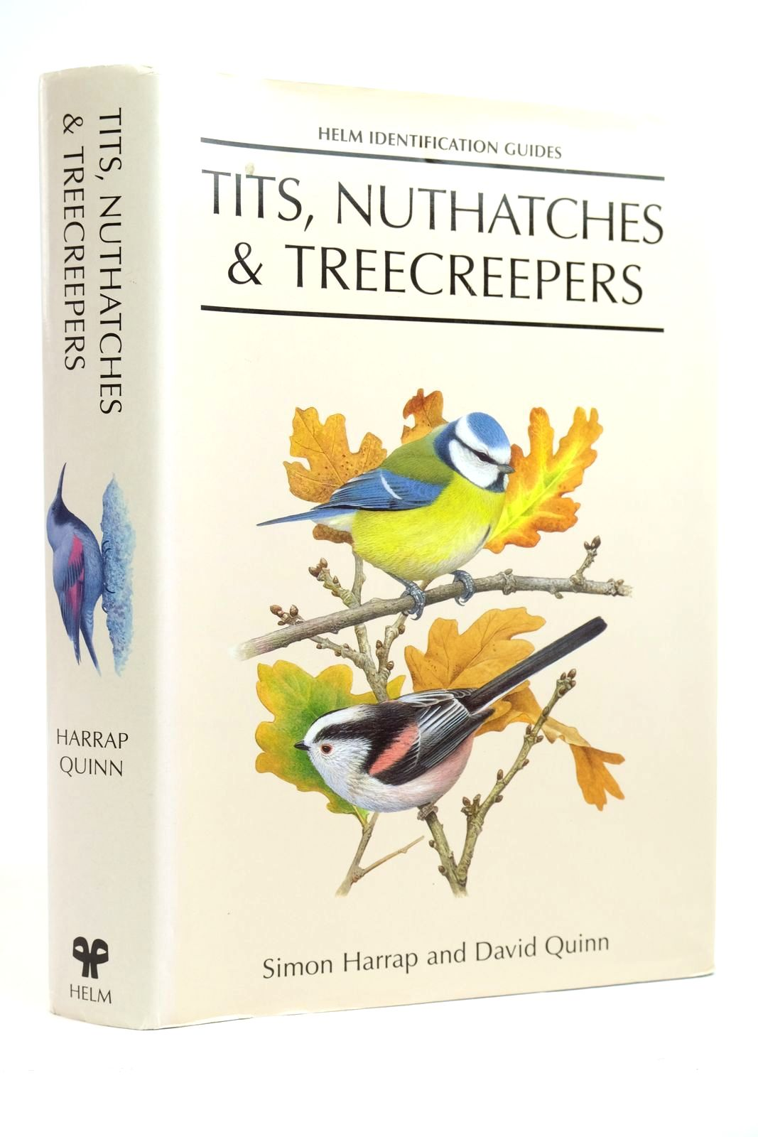 Photo of TITS, NUTHATCHES & TREECREEPERS (HELM IDENTIFICATION GUIDES)- Stock Number: 2135403