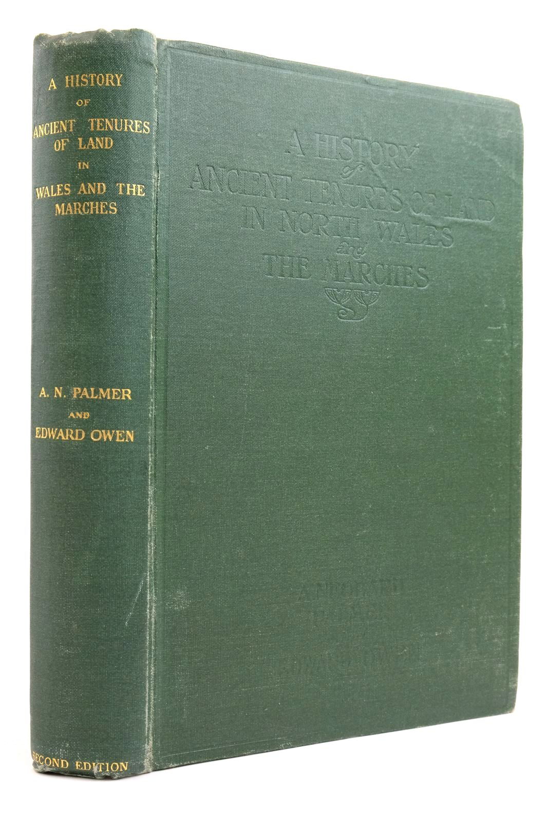 Photo of A HISTORY OF ANCIENT TENURES OF LAND IN NORTH WALES AND THE MARCHES- Stock Number: 2135439