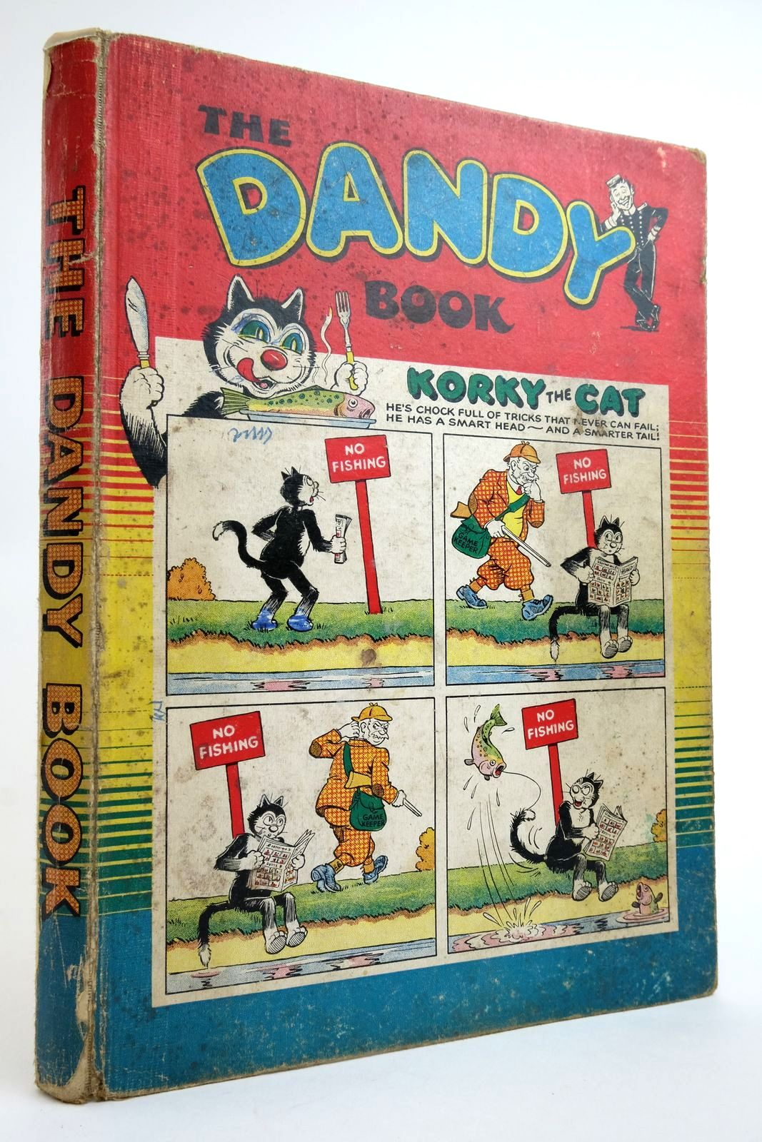 Photo of THE DANDY BOOK 1955- Stock Number: 2135523