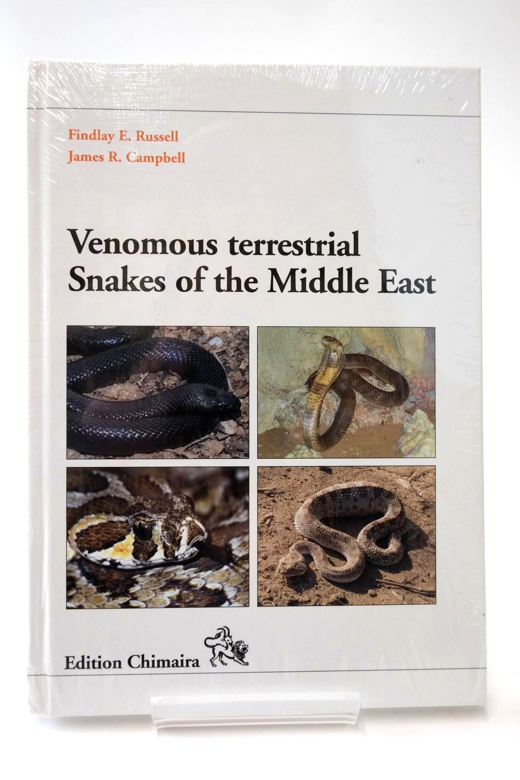 Photo of VENOMOUS TERRESTRIAL SNAKES OF THE MIDDLE EAST- Stock Number: 2135527