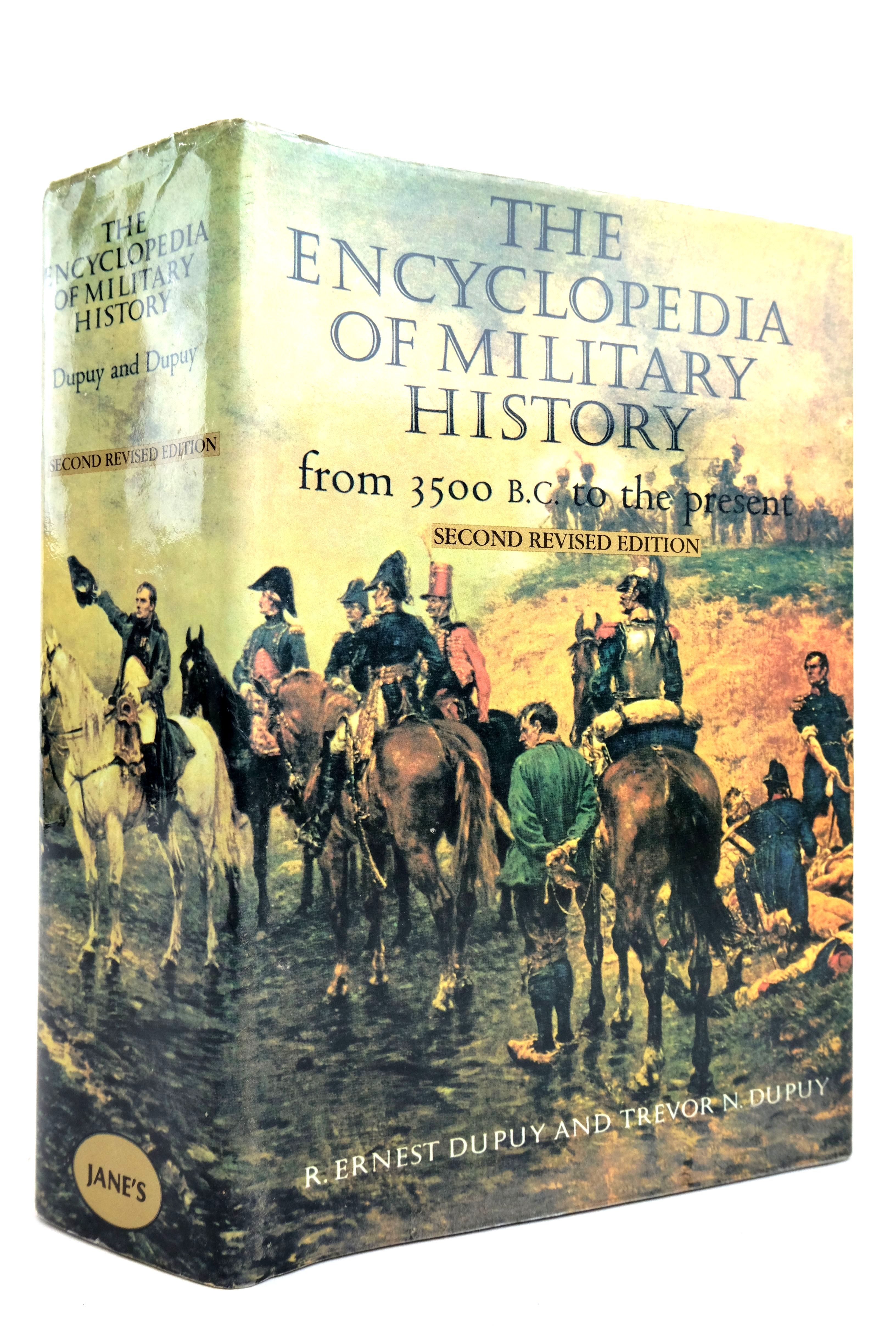 Photo of THE ENCYCLOPEDIA OF MILITARY HISTORY FROM 3500 B.C. TO THE PRESENT- Stock Number: 2135536