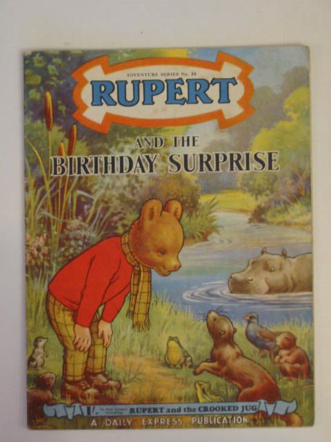Photo of RUPERT ADVENTURE SERIES No. 24 - RUPERT AND THE BIRTHDAY SURPRISE written by Bestall, Alfred published by Daily Express (STOCK CODE: 216574)  for sale by Stella & Rose's Books