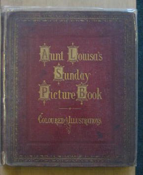 Photo of AUNT LOUISA'S SUNDAY PICTURE BOOK- Stock Number: 302005