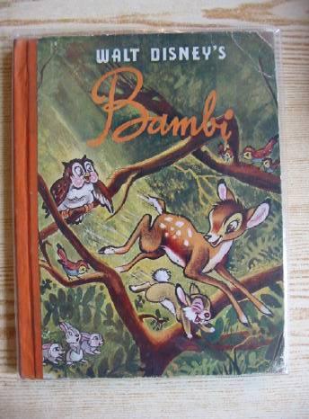 Photo of WALT DISNEY'S BAMBI written by Disney, Walt Salten, Felix illustrated by Disney, Walt published by Collins (STOCK CODE: 318554)  for sale by Stella & Rose's Books