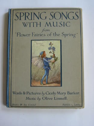 Photo of SPRING SONGS WITH MUSIC written by Barker, Cicely Mary illustrated by Barker, Cicely Mary published by Blackie & Son Ltd. (STOCK CODE: 378604)  for sale by Stella & Rose's Books