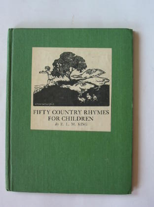 Photo of FIFTY COUNTRY RHYMES FOR CHILDREN- Stock Number: 380152