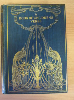 Photo of A BOOK OF CHILDREN'S VERSE- Stock Number: 380802