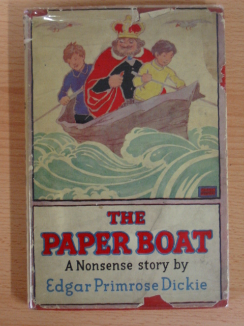 Photo of THE PAPER BOAT written by Dickie, Edgar Primrose illustrated by Adams, Frank published by Hodder & Stoughton (STOCK CODE: 381147)  for sale by Stella & Rose's Books