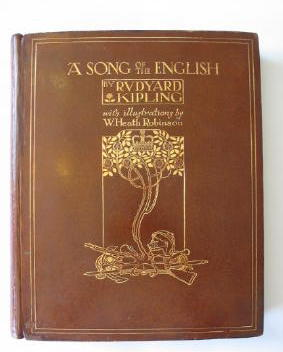 Photo of A SONG OF THE ENGLISH written by Kipling, Rudyard illustrated by Robinson, W. Heath published by Hodder & Stoughton (STOCK CODE: 382540)  for sale by Stella & Rose's Books