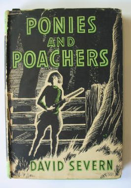 Photo of PONIES AND POACHERS written by Severn, David illustrated by Kiddell-Monroe, Joan published by The Bodley Head (STOCK CODE: 382811)  for sale by Stella & Rose's Books