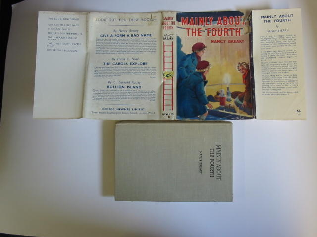 Photo of MAINLY ABOUT THE FOURTH written by Breary, Nancy published by George Newnes Limited (STOCK CODE: 384661)  for sale by Stella & Rose's Books