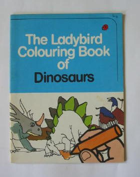 Photo of THE LADYBIRD COLOURING BOOK OF DINOSAURS illustrated by Robinson, B.H. published by Ladybird Books (STOCK CODE: 384851)  for sale by Stella & Rose's Books