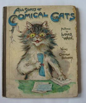 Photo of ALL SORTS OF COMICAL CATS written by Bingham, Clifton illustrated by Wain, Louis published by Ernest Nister (STOCK CODE: 385555)  for sale by Stella & Rose's Books