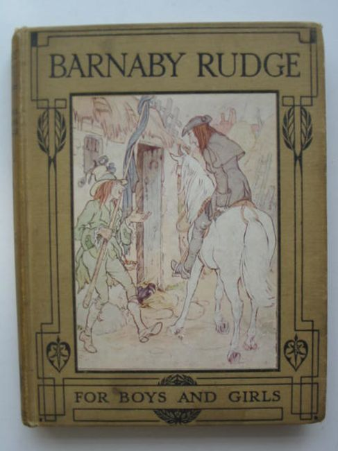 Photo of BARNABY RUDGE written by Dickens, Charles Jackson, Alice F. illustrated by Blaikie, F.M.B. published by T.C. & E.C. Jack (STOCK CODE: 405638)  for sale by Stella & Rose's Books
