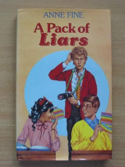 Photo of A PACK OF LIARS written by Fine, Anne published by Hamish Hamilton Childrens Books (STOCK CODE: 425114)  for sale by Stella & Rose's Books