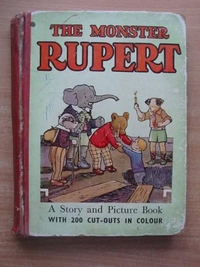 Photo of THE MONSTER RUPERT written by Tourtel, Mary illustrated by Tourtel, Mary published by Sampson Low, Marston & Co. Ltd. (STOCK CODE: 431000)  for sale by Stella & Rose's Books