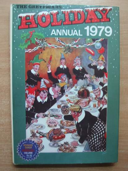 Photo of THE GREYFRIARS HOLIDAY ANNUAL 1979 written by Richards, Frank published by Howard Baker Press (STOCK CODE: 432024)  for sale by Stella & Rose's Books