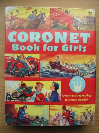 Photo of SECOND CORONET BOOK FOR GIRLS written by Leyland, Eric Myson, Sonia et al,  illustrated by McGillivray, Robert published by Sampson Low (STOCK CODE: 433647)  for sale by Stella & Rose's Books