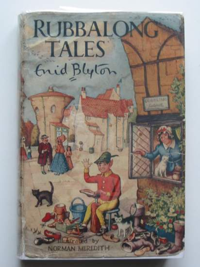 Photo of RUBBALONG TALES written by Blyton, Enid illustrated by Meredith, Norman published by Macmillan & Co. Ltd. (STOCK CODE: 434299)  for sale by Stella & Rose's Books