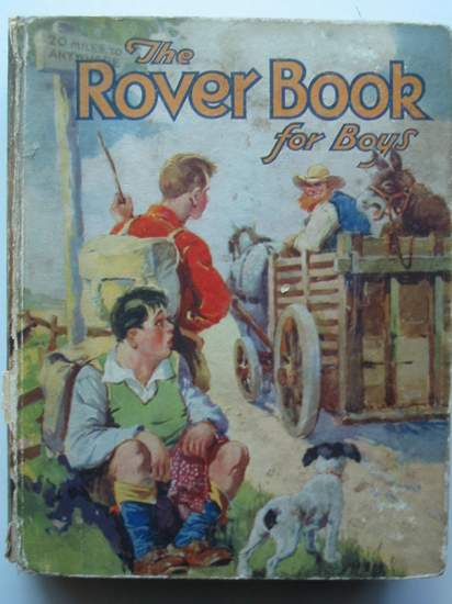 Photo of THE ROVER BOOK FOR BOYS 1932- Stock Number: 437251
