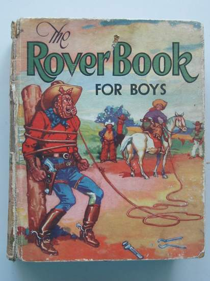 Photo of THE ROVER BOOK FOR BOYS 1938- Stock Number: 437520