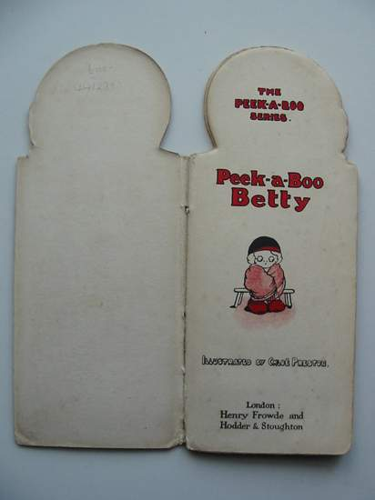 Photo of PEEK-A-BOO BETTY written by Preston, Chloe illustrated by Preston, Chloe published by Henry Frowde, Hodder & Stoughton (STOCK CODE: 441239)  for sale by Stella & Rose's Books