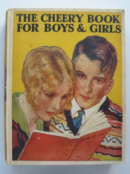 Photo of THE CHEERY BOOK FOR BOYS & GIRLS- Stock Number: 443867
