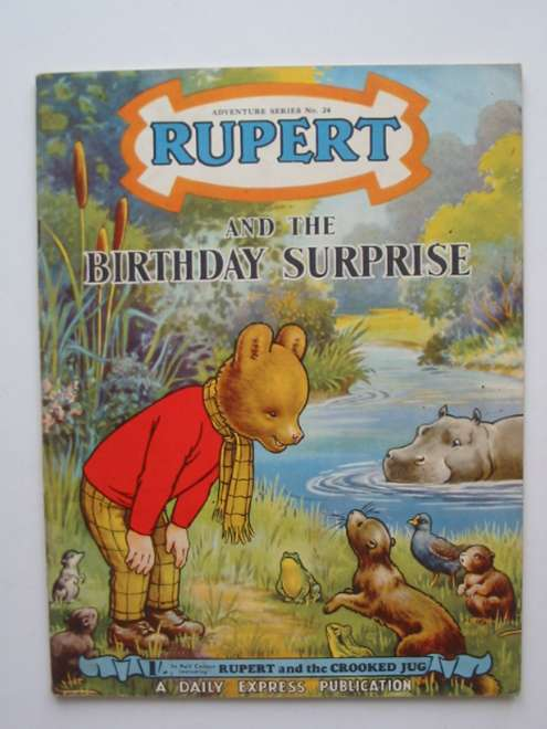 Photo of RUPERT ADVENTURE SERIES No. 24 - RUPERT AND THE BIRTHDAY SURPRISE written by Bestall, Alfred published by Daily Express (STOCK CODE: 444579)  for sale by Stella & Rose's Books